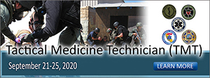 Tactical Medicine Technician Course